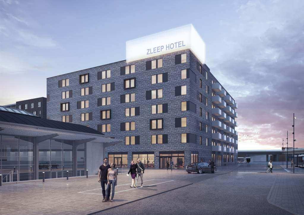 Zleep Hotel Aalborg skisser