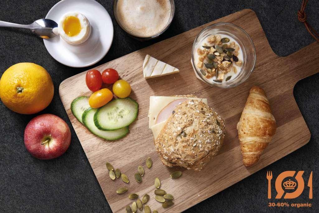 Ecological Cuisine Label - organic breakfast certified