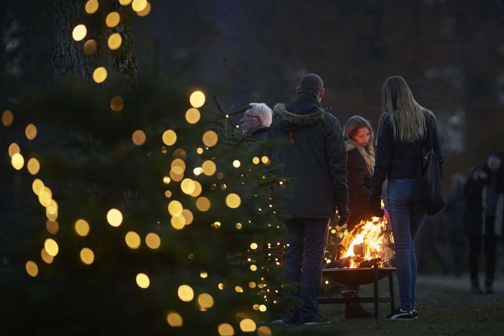 Julemarked på ©Egeskov Slot