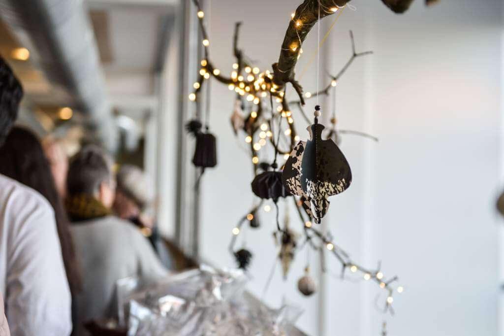 Julebazar på Designskolen Kolding | © Katrine Worsøe