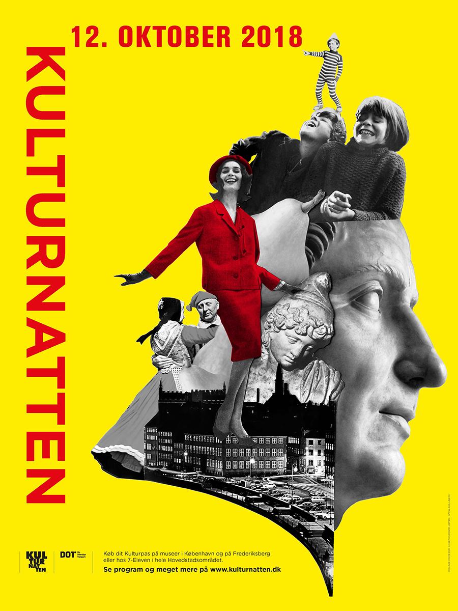 Kulturnattens plakat 2018
