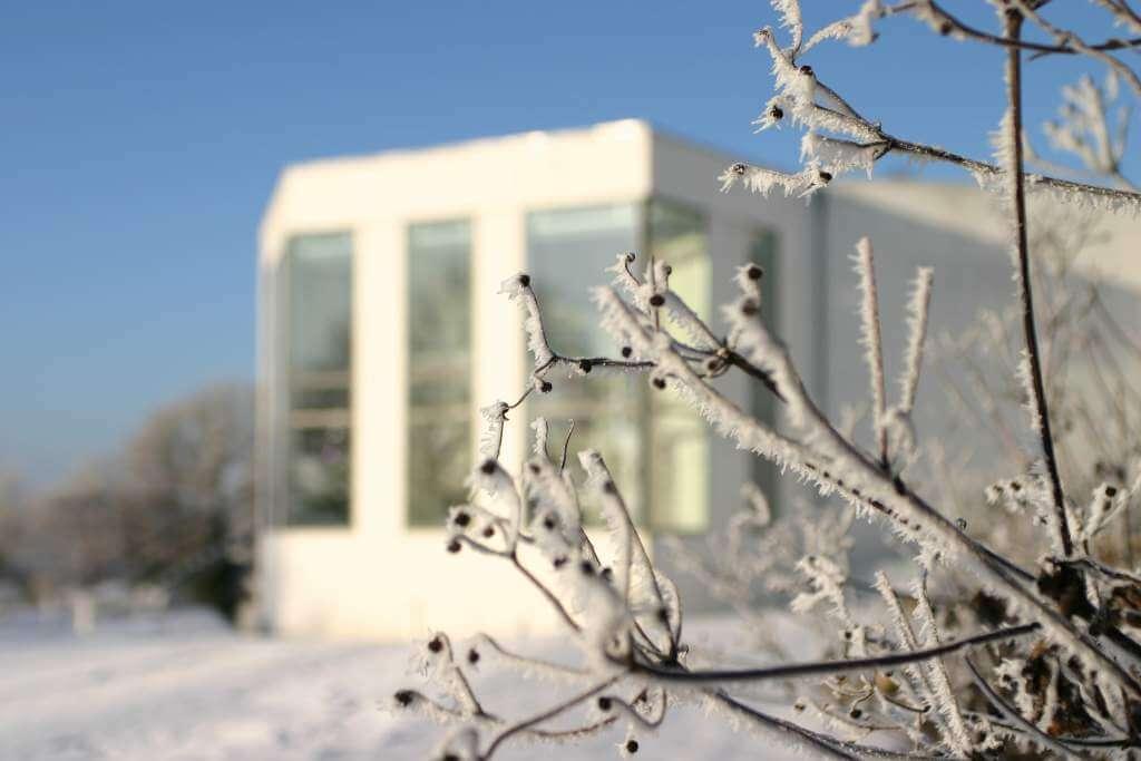 Vinter på ©Trapholt